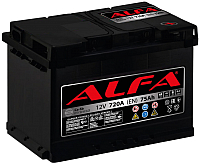 Автомобильный аккумулятор ALFA battery Hybrid R / AL 75.0 (75 А/ч) -