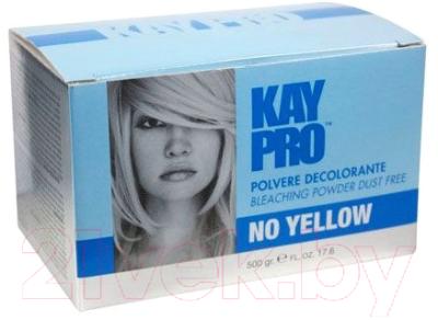 Порошок для осветления волос Kaypro Пудра антижелтая (500г)
