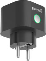 Розетка с Wi-Fi Perenio Power Link PEHPL02 (черный) -