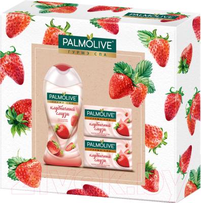 Набор косметики для тела Palmolive Гурмэ СПА Клубника гель для душа 250мл+мыло 2шт недорого