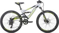 Велосипед Format 6612 / RBKM0J648003 (14.5, серебристый/черный матовый) -