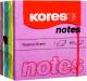 Блок для записей Kores Весна / 48464.02 (ассорти) -