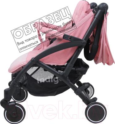 Детская прогулочная коляска INDIGO Cherry (бежевый)