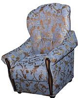 Кресло мягкое Промтрейдинг Уют (синий) -