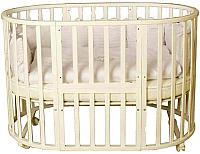 Детская кровать-трансформер Incanto Северная Звезда (слоновая кость) -