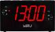 Радиочасы Miru CR-1030 с ЗУ (черный) -
