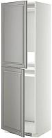 Шкаф-пенал под холодильник Ikea Метод 092.270.61 -
