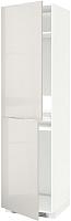 Шкаф-пенал под холодильник Ikea Метод 192.330.33 -