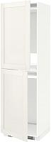 Шкаф-пенал под холодильник Ikea Метод 092.229.59 -