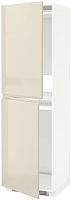 Шкаф-пенал под холодильник Ikea Метод 192.243.64 -