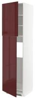 Шкаф-пенал под холодильник Ikea Метод 793.270.76 -