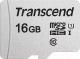 Карта памяти Transcend microSDHC 300S 16GB Class 10 UHS-I U1 (TS16GUSD300S) -