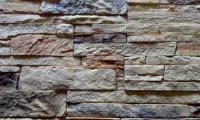 Декоративный камень Baastone Сланец Классический желто-коричневый-оранжевый 103 (360x90x8-14) -