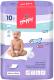 Набор пеленок одноразовых детских Bella Baby Happy Baby Happy Classic 60x60 (10шт) -