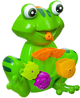 Игрушка для ванной Bondibon Мельница лягушка / ВВ1911 -