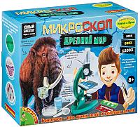 Детский микроскоп Bondibon Французские опыты. Науки с Буки. Микроскоп. Мамонты / ВВ4202 -