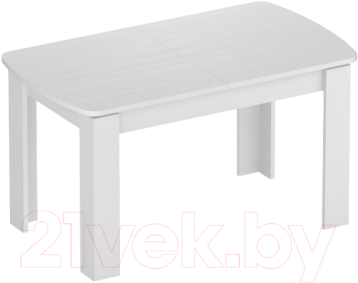 Обеденный стол Eligard Arris 3 (белый структурный)