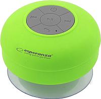 Портативная колонка Esperanza EP124G (зеленый) -