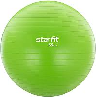 Фитбол гладкий Starfit GB-104 (55см, зеленый) -