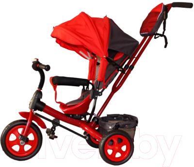 Детский велосипед с ручкой GalaXy Виват 2 (красный)