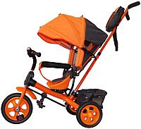 Детский велосипед с ручкой GalaXy Виват 2 (оранжевый) -