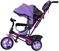 Детский велосипед с ручкой GalaXy Виват 2 (фиолетовый) -