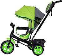Детский велосипед с ручкой GalaXy Виват 2 (салатовый) -