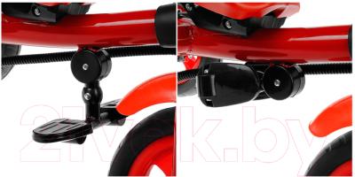 Детский велосипед с ручкой GalaXy Виват 3 (красный)