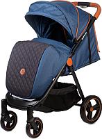 Детская прогулочная коляска Acarento Bellezza / AS130 (джинсовый/серый) -