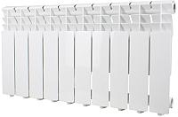 Радиатор алюминиевый Halsen 500x80 (8 секций) -