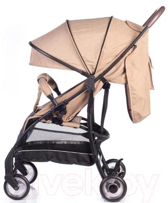 Детская прогулочная коляска Acarento Primavera / AS110 (бежевый/серый)
