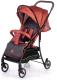 Детская прогулочная коляска Acarento Primavera / AS110 (красный/серый) -