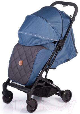 Детская прогулочная коляска Acarento Provetto / AS120 (джинсовый/серый)