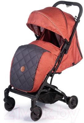 Детская прогулочная коляска Acarento Provetto / AS120 (красный/серый)