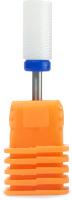 Фрезы для маникюра PALU M цилиндр (синий/средний) -