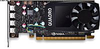 Видеокарта PNY Quadro P600 DVI 2GB GDDR5 (VCQP600DVI-PB) -