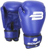 Боксерские перчатки BoyBo Basic 12oz (синий) -