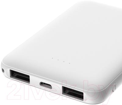 Портативное зарядное устройство Olmio Mini-5 5000mAh / 039033 (белый)