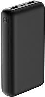 Портативное зарядное устройство Olmio Mini-20 20000mAh / 039184 (черный) -