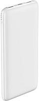Портативное зарядное устройство Olmio Slim 10000mAh / 038715 (белый) -