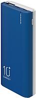 Портативное зарядное устройство Olmio C-10 10000mAh / 039181 (синий) -