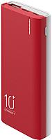 Портативное зарядное устройство Olmio C-10 10000mAh / 039182 (красный) -