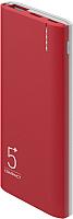 Портативное зарядное устройство Olmio C-05 5000mAh / 039179 (красный) -