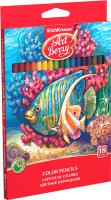 Набор цветных карандашей Erich Krause ArtBerry / 32879 (18цв) -