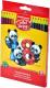 Набор цветных карандашей Erich Krause ArtBerry / 46429 (18цв) -