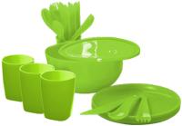 Набор пластиковой посуды Plastic Republic Дачный ПЦ4063ЛМ -