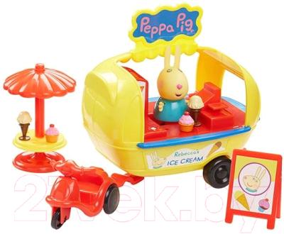 Мини-кафе игрушечное Peppa Pig Кафе-мороженое Ребекки / 30628