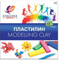 Пластилин ЛУЧ Классика / 7С 331-08 (12цв) -