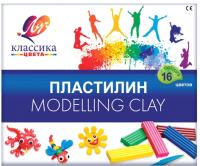 Пластилин ЛУЧ Классика / 20С 1329-08 (16цв) -