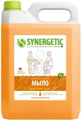 Мыло жидкое Synergetic Биоразлагаемое фруктовый микс (5л)